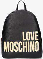 Schwarze LOVE MOSCHINO Rucksack 42876  - medium