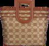 Braune UNISA Handtasche ZPETRI  - small