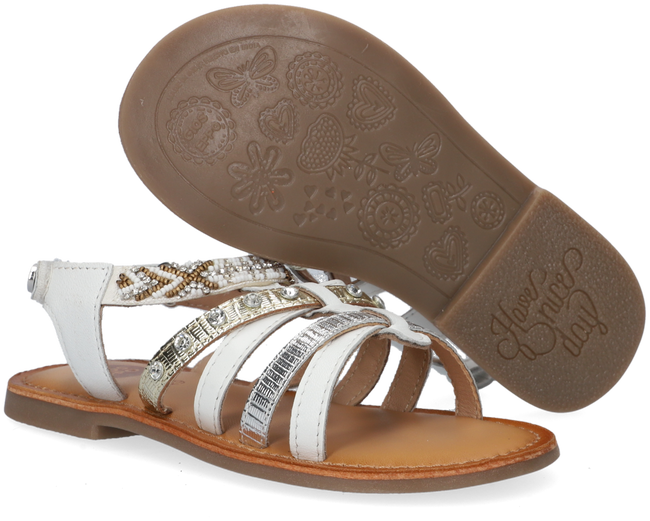 Weiße GIOSEPPO Sandalen CANTON  - large