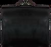 Schwarze MYOMY Laptoptasche MY HOME BAG BUSINESS  - small