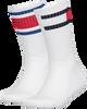 Weiße TOMMY HILFIGER Socken TH KIDS FLAG 2P  - small