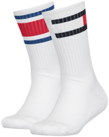 Weiße TOMMY HILFIGER Socken TH KIDS FLAG 2P  - medium