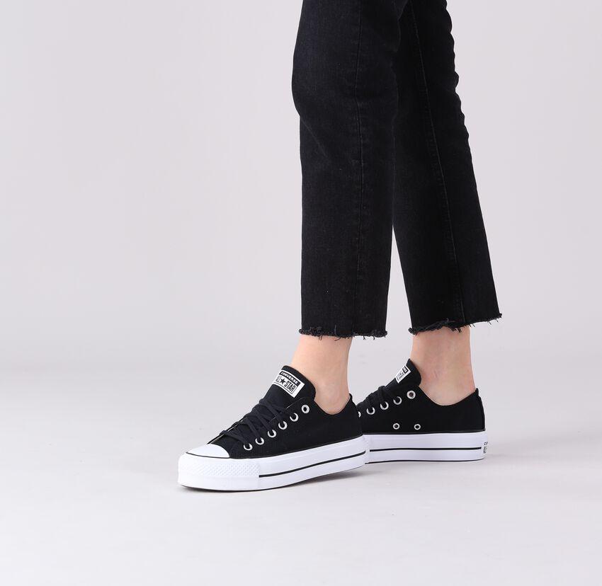 Black CONVERSE shoe CHUCK TAYLOR ALL STAR LIFT  - larger