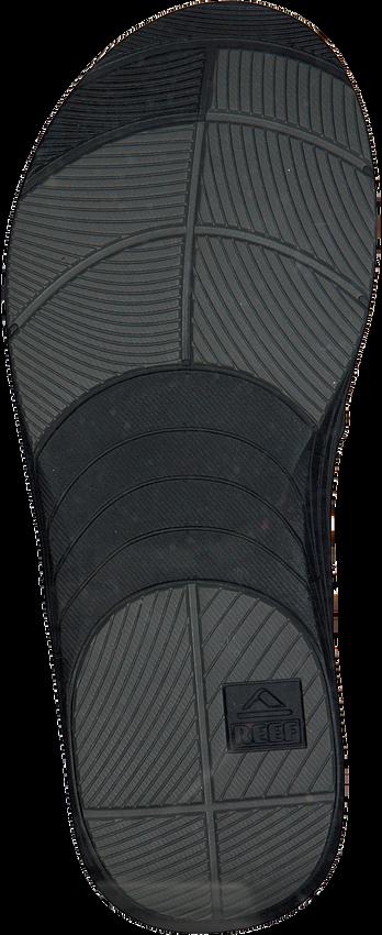 Schwarze REEF Pantolette MODERN MEN  - larger