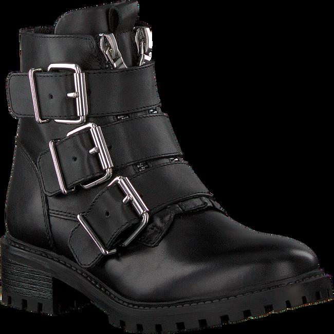 Schwarze PS POELMAN Biker Boots LPCFENIX-40  - large