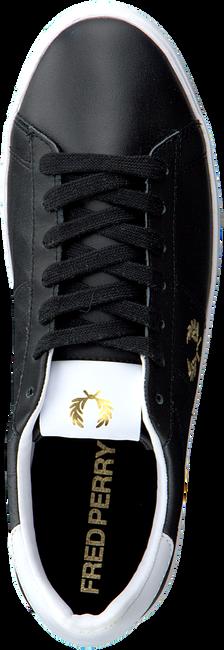 Schwarze FRED PERRY Sneaker low B8255  - large