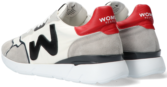 Weiße WOMSH Sneaker low RUNNY HEREN  - large