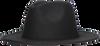 Schwarze NOTRE-V Hut HOED A3-8  - small