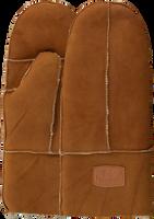 Cognacfarbene WARMBAT Handschuhe MITTENS WOMEN  - medium