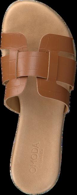 Cognacfarbene OMODA Pantolette 179874  - large