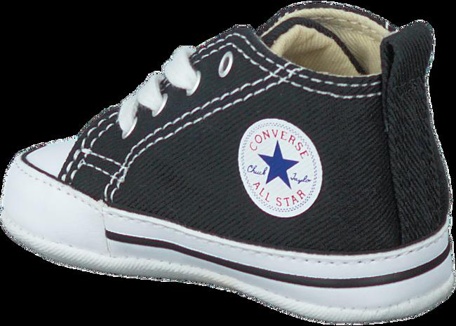 Schwarze CONVERSE Babyschuhe FIRST STAR - large