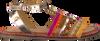 Goldfarbene GIOSEPPO Sandalen 45025 - small