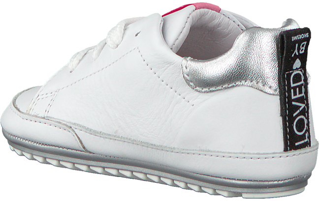 Weiße SHOESME Babyschuhe BP20S024  - large