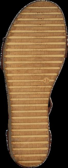 Cognacfarbene OMODA Sandalen 722007  - large