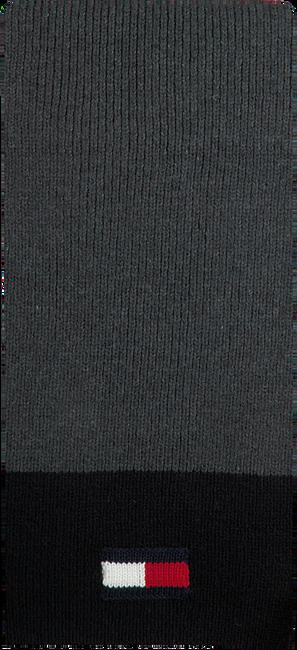 Schwarze TOMMY HILFIGER Schal BIG FLAG SCARF  - large