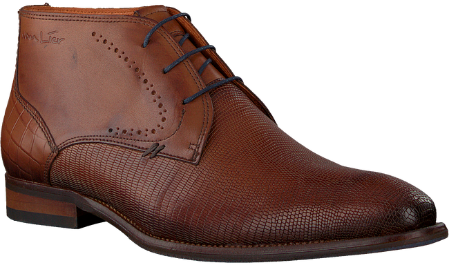 Cognacfarbene VAN LIER Business Schuhe 1959123  - large
