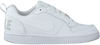 Weiße NIKE Sneaker COURT BOROUGH LOW (KIDS) - small