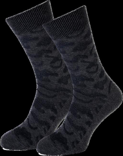 Graue MARCMARCS Socken RED BOSTON COTTON - large