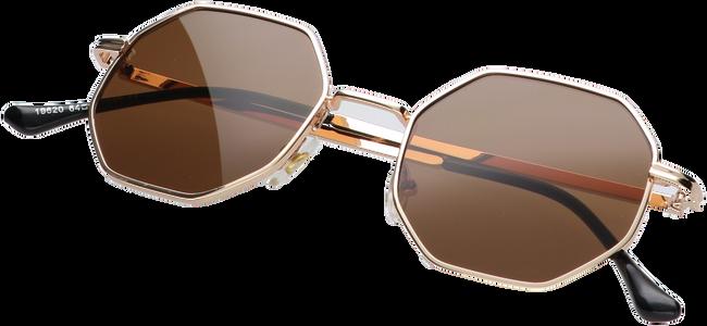 Braune WYSH Sonnenbrille ROBYN  - large