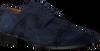 Blaue MAZZELTOV Business Schuhe 3817  - small