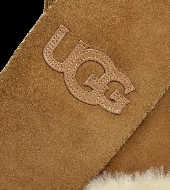 Braune UGG Handschuhe LOGO MITTEN - large