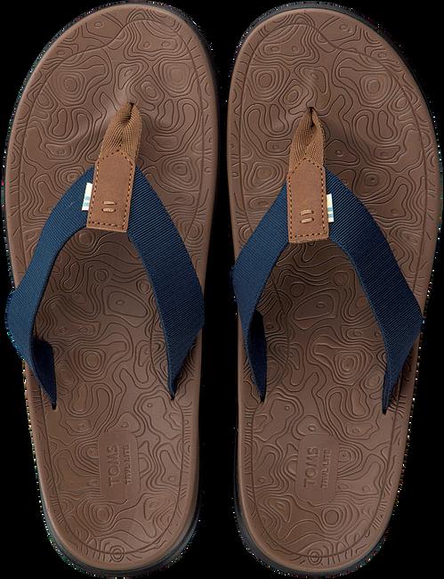 Blaue TOMS Pantolette TRAVAL LITE  - large