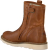 Cognacfarbene HIP Ankle Boots H2280 - small