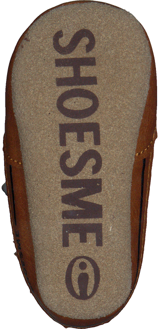 Cognacfarbene SHOESME Babyschuhe BS9A001  - large