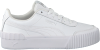Weiße PUMA Sneaker low CARINA LIFT TW  - medium