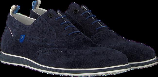 Blaue FLORIS VAN BOMMEL Business Schuhe 19201  - large