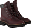 Braune TIMBERLAND Schnürboots LONDON SQUARE 6IN BOOT - small