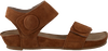 Cognacfarbene CA'SHOTT Sandalen 10154  - small