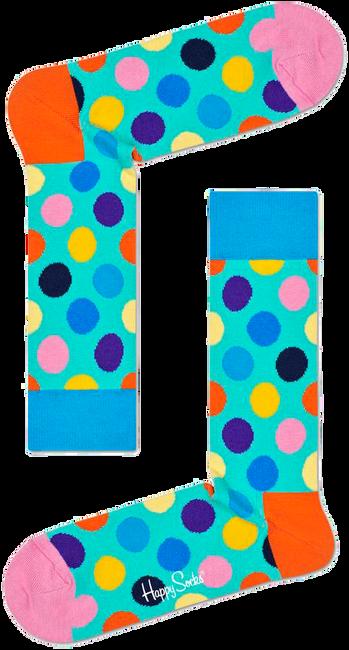 Grüne HAPPY SOCKS Socken BIG DOT  - large