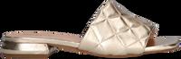 Goldfarbene NOTRE-V Pantolette 1318  - medium