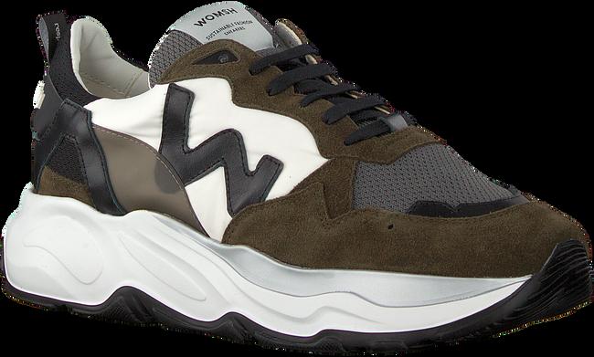Grüne WOMSH Sneaker low FUTURA  - large