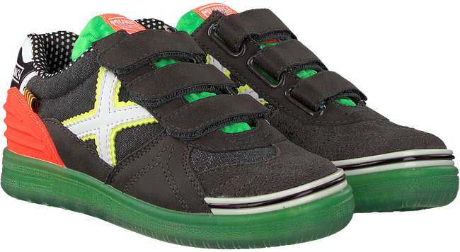 Schwarze MUNICH Sneaker low G3 VELCRO  - large