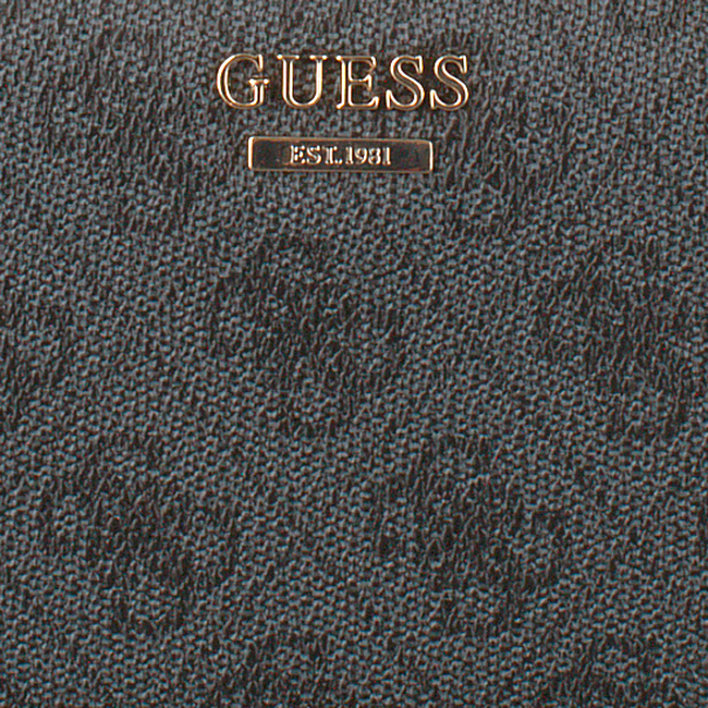 Graue GUESS Portemonnaie DOWNTOWN COOL SLG LRG ZIP ARND  - large