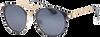 Schwarze IKKI Sonnenbrille DINK  - small