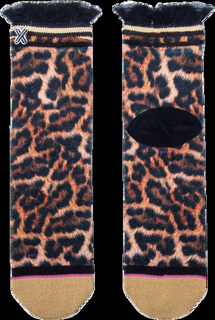 Mehrfarbige/Bunte XPOOOS Socken LUCILLE LEOPARD  - large
