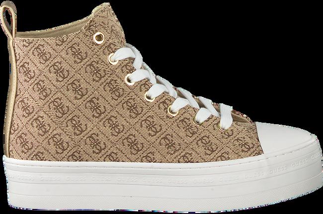 Beige GUESS Sneaker high BOKAN  - large