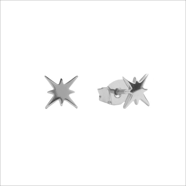 Silberne ALLTHELUCKINTHEWORLD Ohrringe PARADE EARRINGS STARBURST - large