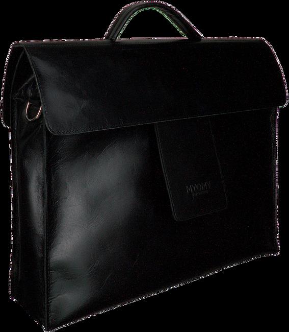 Schwarze MYOMY Laptoptasche MY HOME BAG BUSINESS  - large