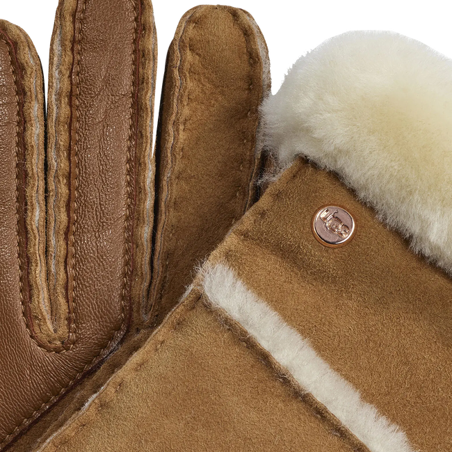 Camelfarbene UGG Handschuhe 17371  - large
