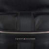 Schwarze TOMMY HILFIGER Rucksack TH DOWNTOWN BACKPACK  - small