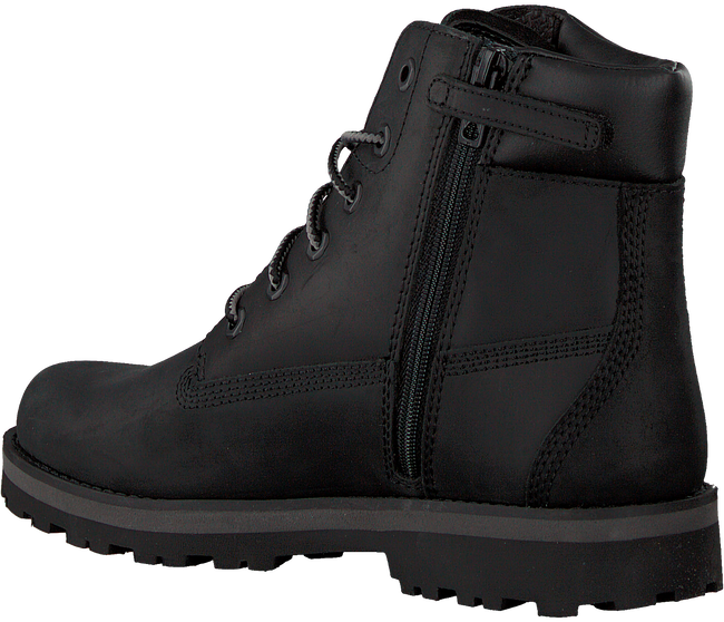 Schwarze TIMBERLAND Schnürboots COURMA KID TRADITIONAL  - large