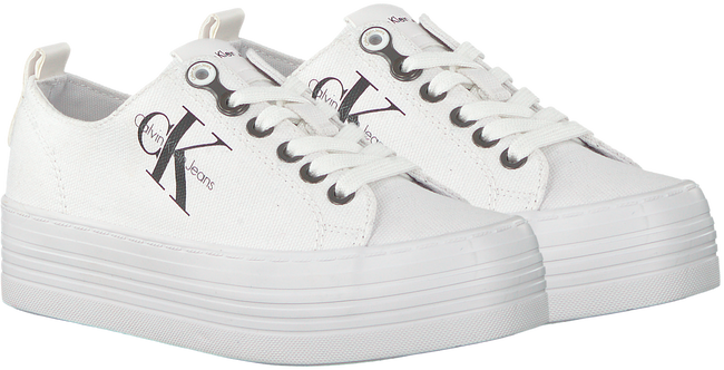 Weiße CALVIN KLEIN Sneaker ZOLAH - large