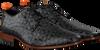 Schwarze REHAB Business Schuhe GREG TETRIS  - small