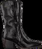 Schwarze VERTON Hohe Stiefel 687-007  - small