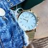 Goldfarbene IKKI Uhr JANET - small