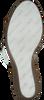 Cognacfarbene TOMMY HILFIGER Sandalen NATURAL WEDGE  - small